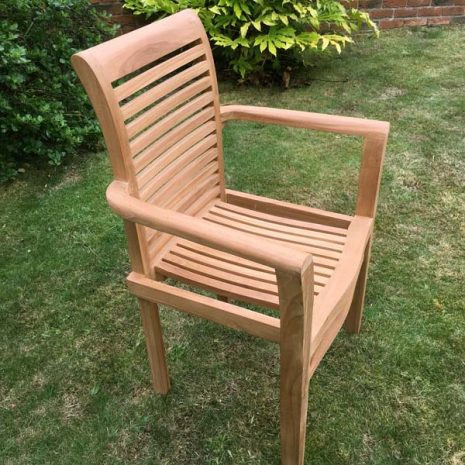 PJ_RN_StackingChair - Seville Stacking Garden Armchair