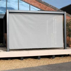 4th Side Screen for Mojave 3m x 3m Metal Gazebo Side screens