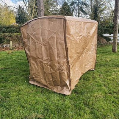 Tamarin Swing Seat Weather Cover - Side view