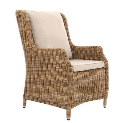 Willow Rattan Dining Armchair