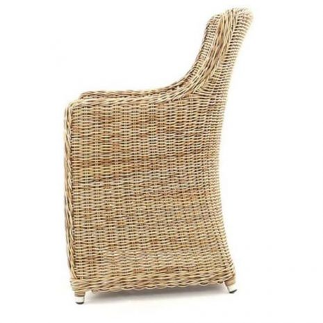 Willow Rattan Dining Chair - Side view