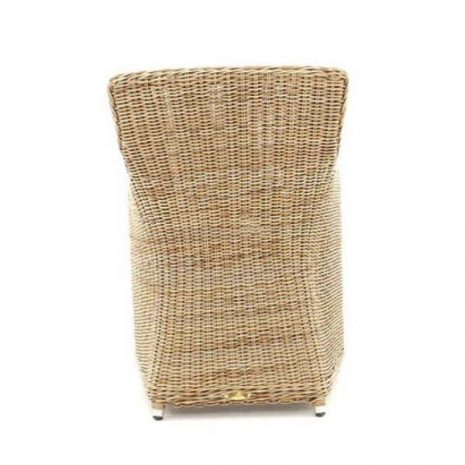 Willow Rattan Dining Chair - rear view