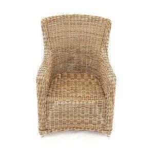 Willow Rattan Garden Dining Chair