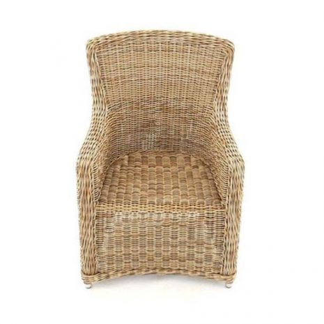 Willow Rattan Dining Chair - without cushion