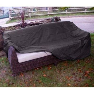 Rattan Sofa Cover Grey