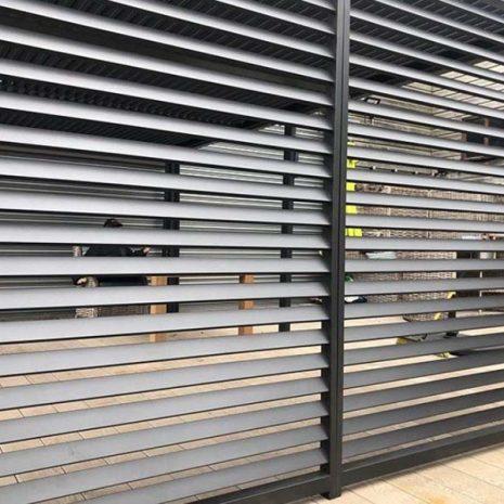 Mojave Gazebo 350cm Fence Panel _ 2