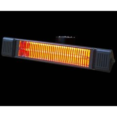 Remote Control Oscillating Outdoor Wall Heater