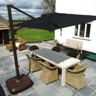 Bonnington 3m Square Cantiliver Parasol