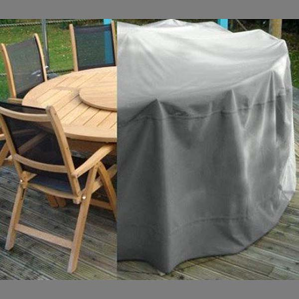 Round Suite Cover Upvc Lined Waterproof, Small Round Garden Table Cover
