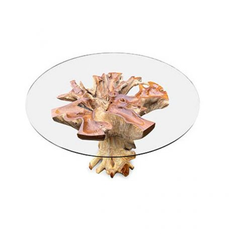 Lombok Teak Root Round Dining Table