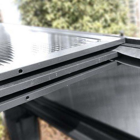 Curtain Sided Wall Gazebo Sliding Roof Panels