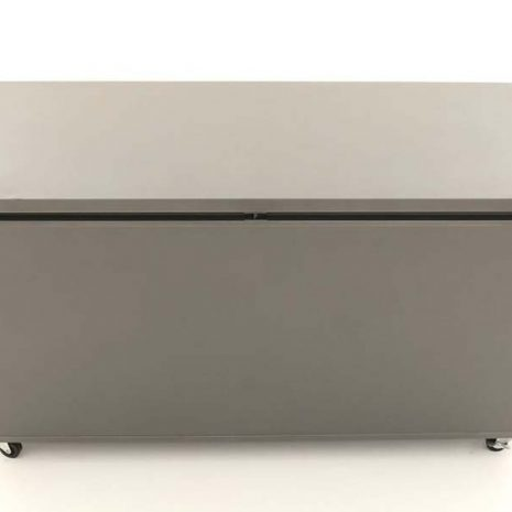 Mojave Aluminium Garden Storage Box Lid closed