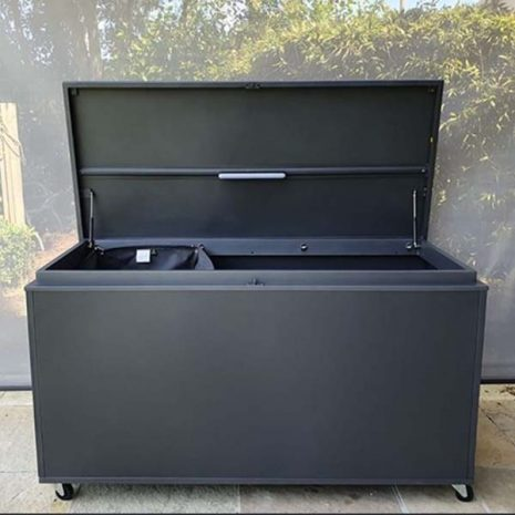 Mojave Grey Aluminium Outdoor Storage Box