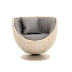Dartmouth AquaMax Rattan Swivel Bucket Chair
