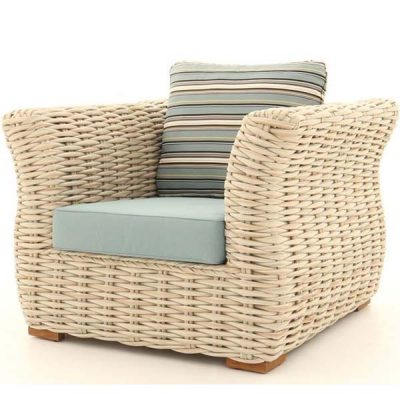 Poole Curved Armchair