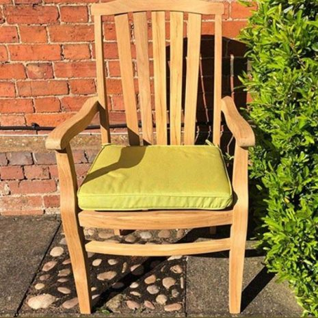 Lime Green Outdoor Seat Cushion
