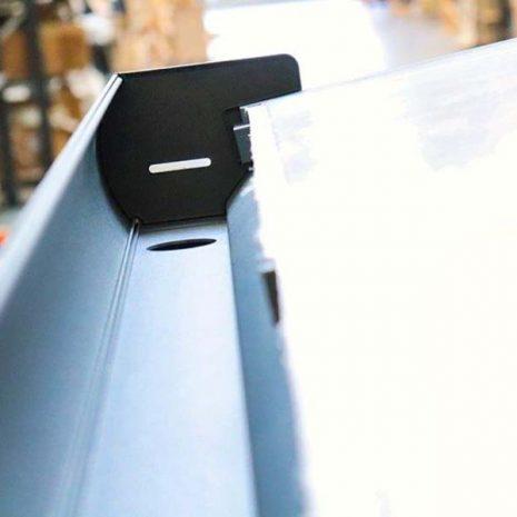 Tabernas Aluminium Wall Mounted Verandah Gutter Close Up