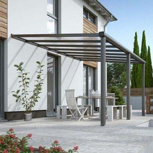 Tabernas Solid Roof Aluminium Wall M
