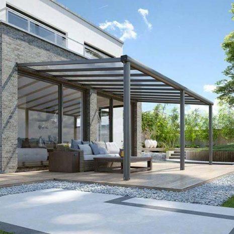 Tabernas Solid Roof Wall Mounted Verandah B