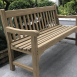 Roman Bench 3/4 Side Front