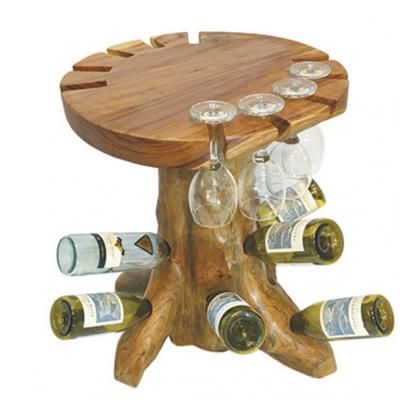 Raja Teak Root Wine Tasting Table