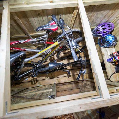 Superior Bike Store Top Down Open