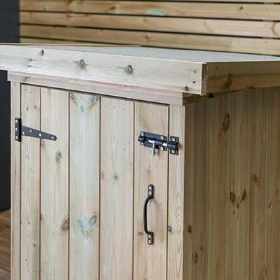 Superior Small Garden Shed Close Up