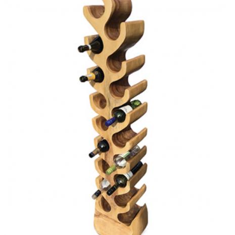 Tree wine rack 18 hole profile