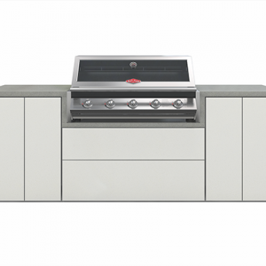 Beefeater Signature 5 burner kichen with 2 single cupboards