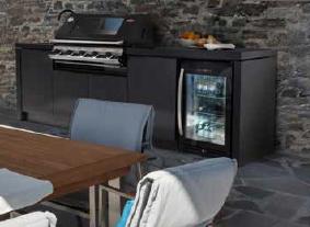 Beefeater 3000 series 5 burner outdoor kitchen