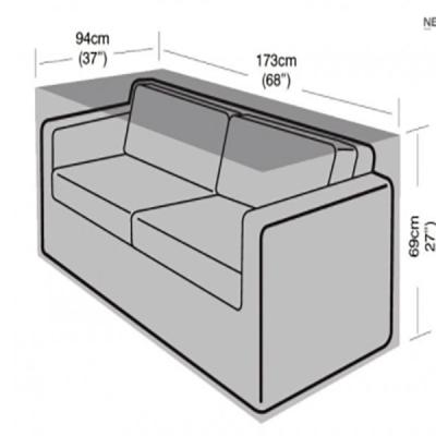 2-3 seater sofa cover dimensions