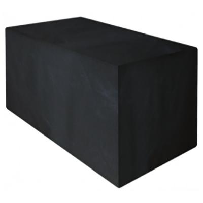 3 Seater Rattan Large Sofa Cover Black