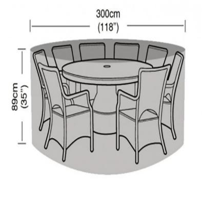 8 seater furniture set dimensions