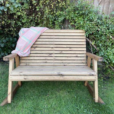 Rocker bench front profile