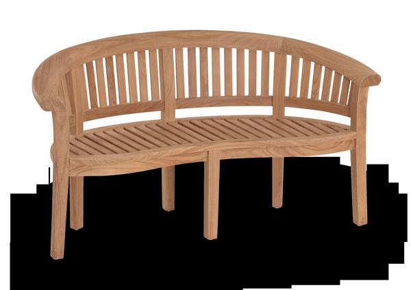 Enjoyable Half Moon Teak Curved Garden Bench Love Seat Cjindustries Chair Design For Home Cjindustriesco